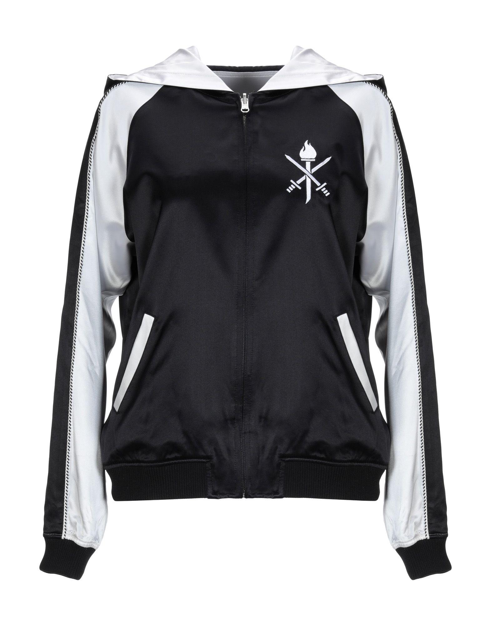 《送料無料》OPENING CEREMONY レディース スウェットシャツ ブラック XS シルク 100%