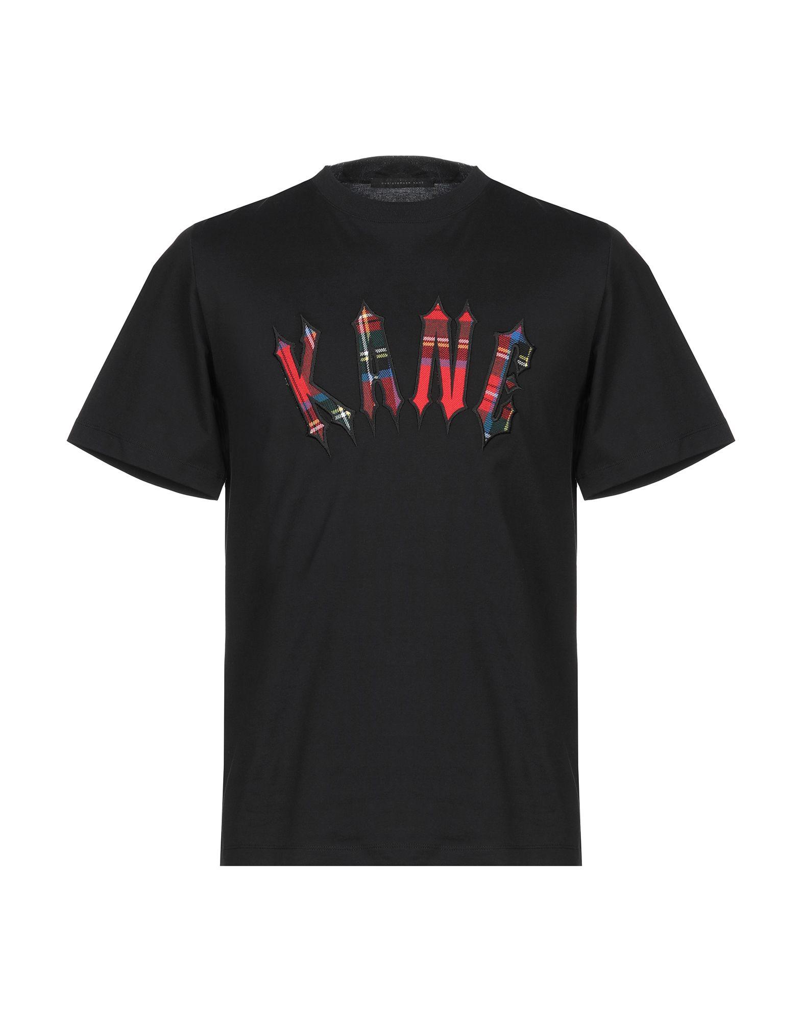 《セール開催中》CHRISTOPHER KANE メンズ T シャツ ブラック XS コットン 100%