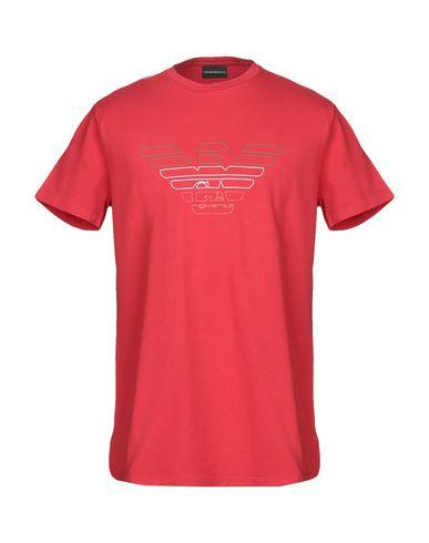 Купить Женскую футболку  красного цвета