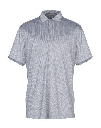 Купить Мужское поло  серого цвета