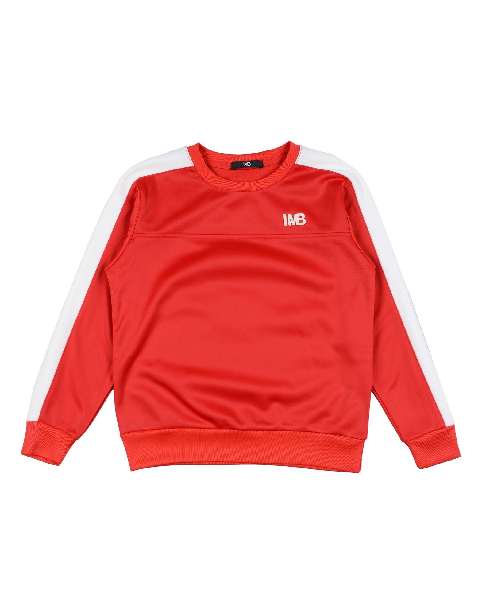 I'm Brian Kids' Sweatshirts In Red