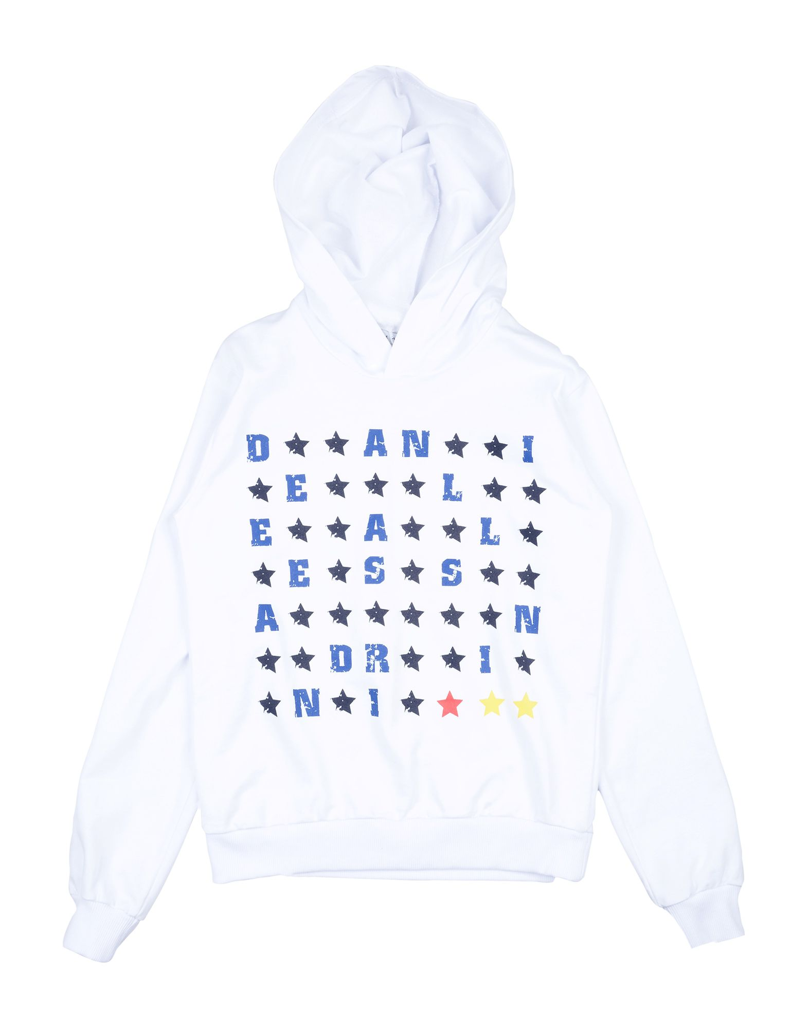 DANIELE ALESSANDRINI Jungen 3-8 jahre Sweatshirt6 weiß