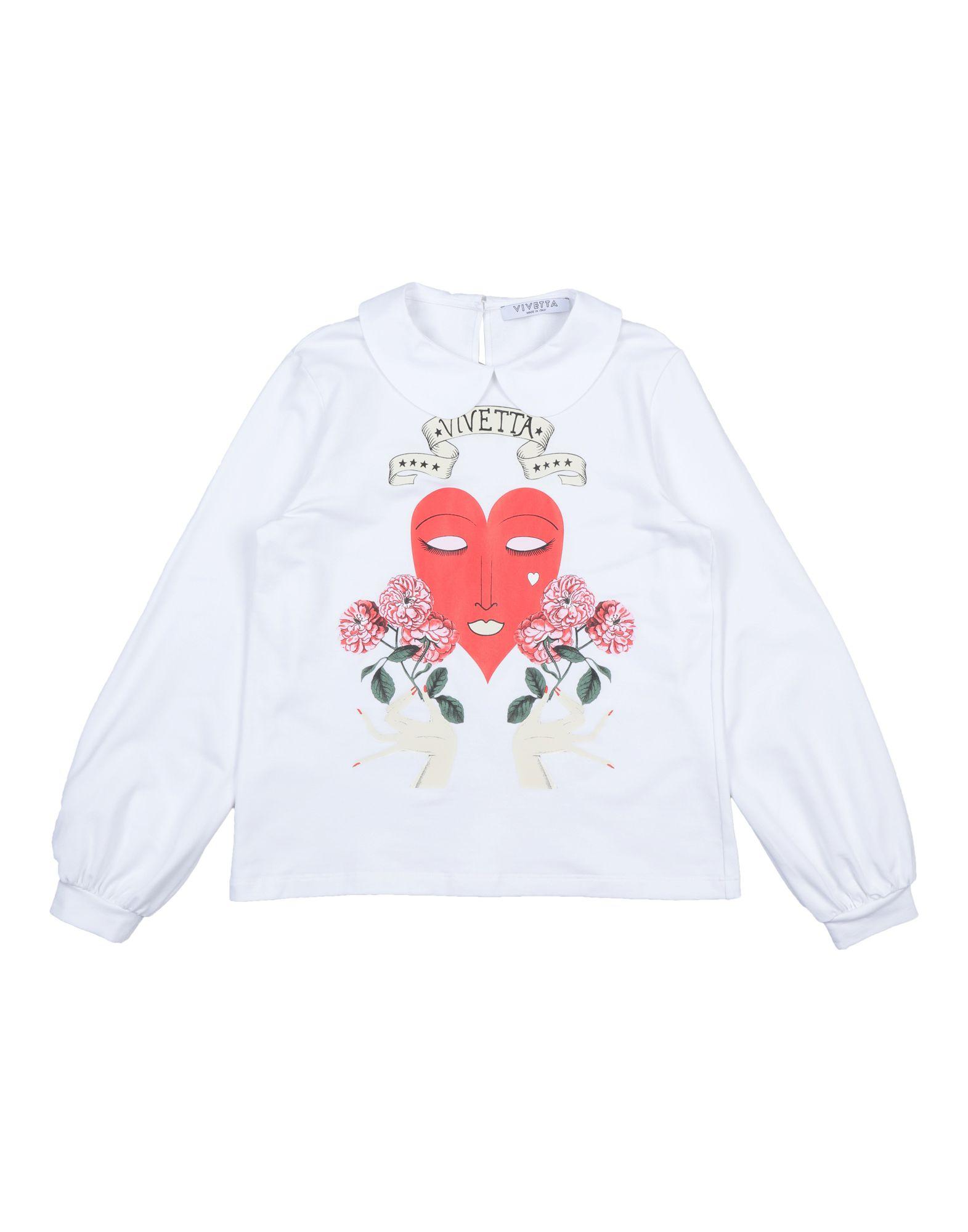 VIVETTA Mädchen 9-16 jahre Sweatshirt2 weiß