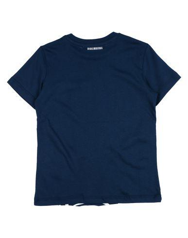 Фото 2 - Футболку темно-синего цвета