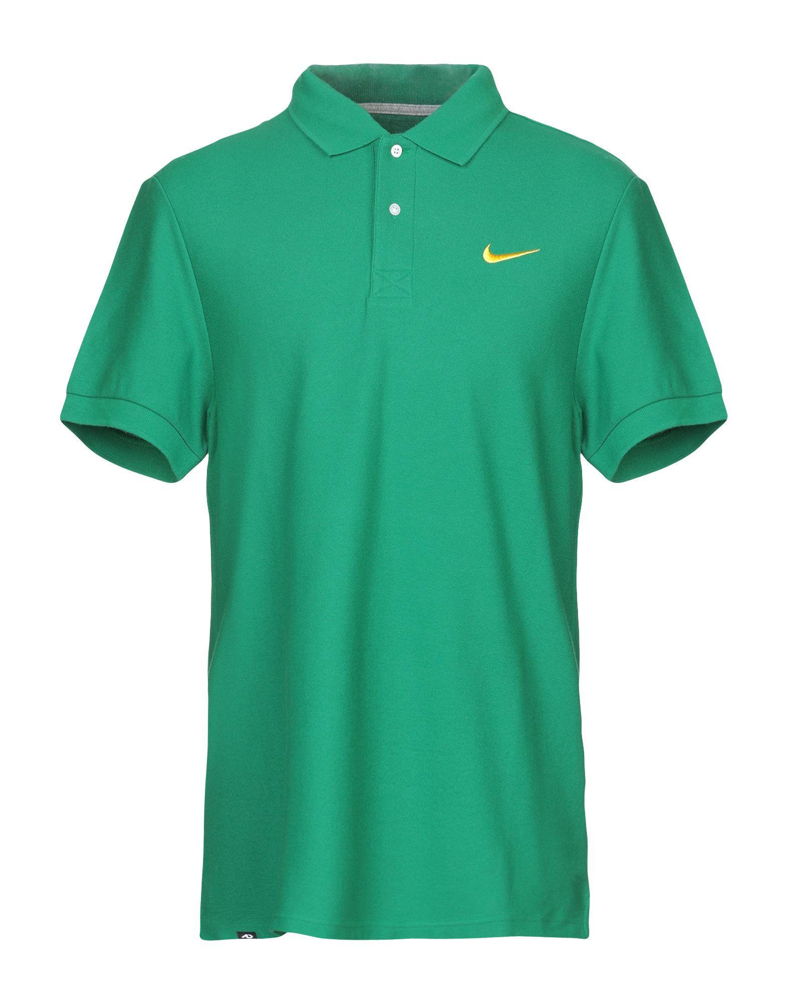 《送料無料》NIKE メンズ ポロシャツ グリーン S コットン 100%
