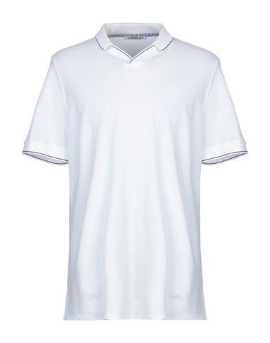 Купить Мужское поло  белого цвета