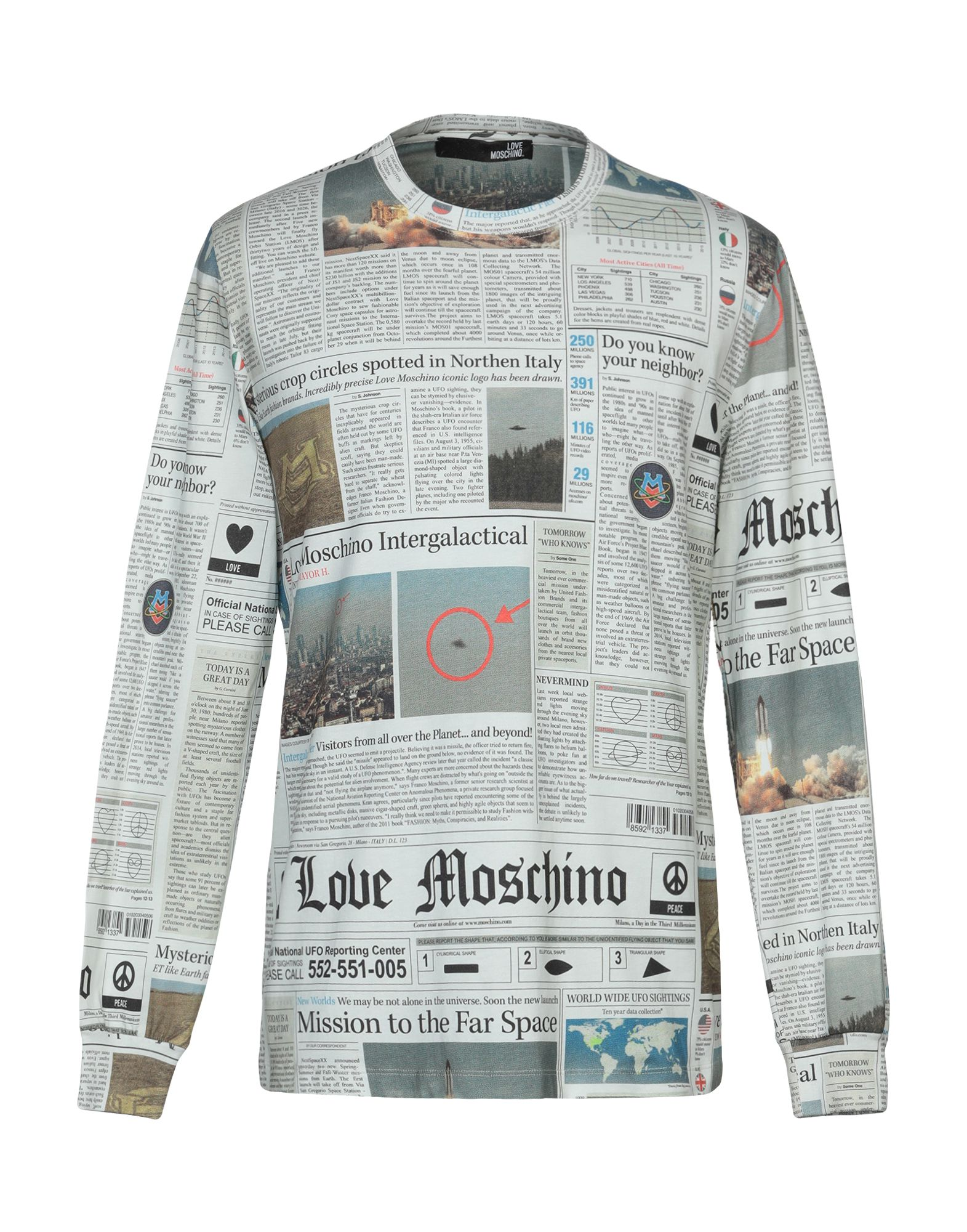LOVE MOSCHINO Футболка love moschino футболка
