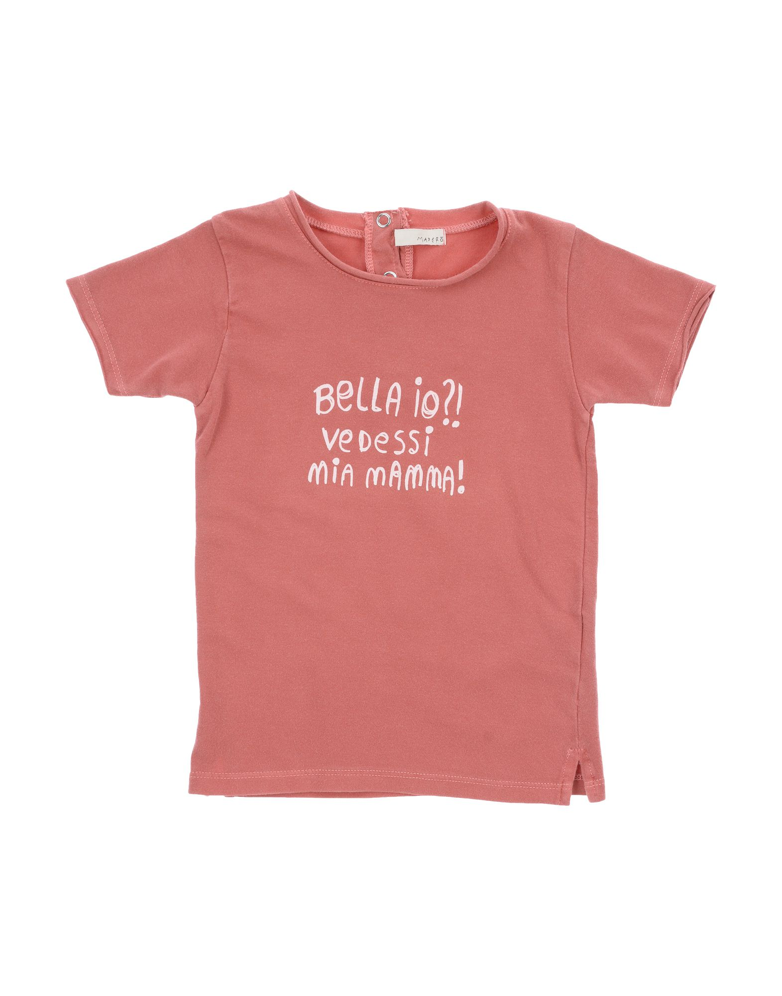 Mapero Kids' T-shirts In Pink