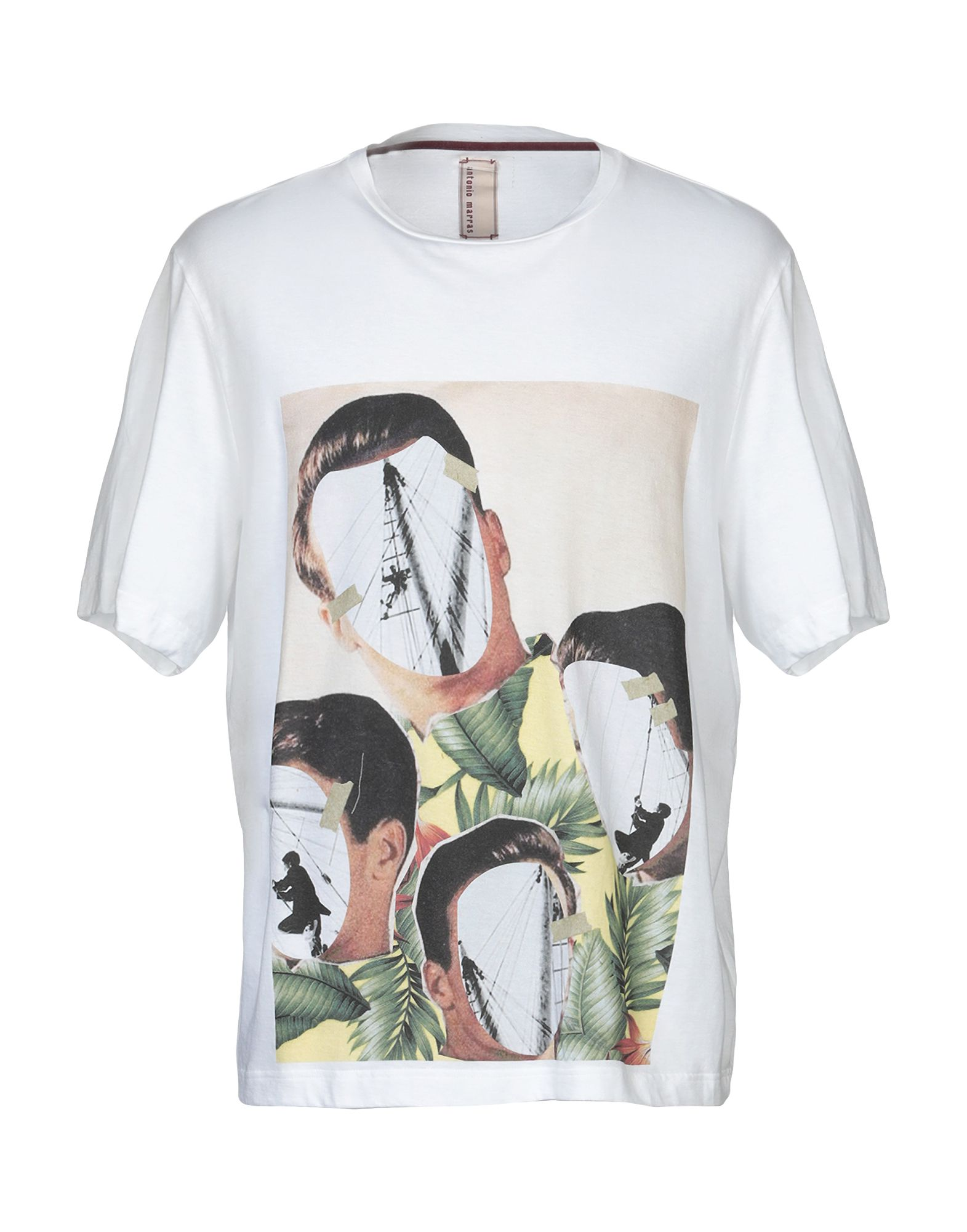 ANTONIO MARRAS Футболка antonio marras джинсовая рубашка
