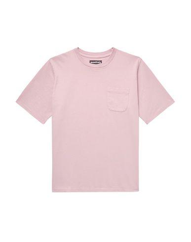 Фото - Женскую футболку MONITALY розового цвета