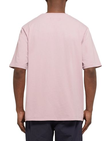 Фото 2 - Женскую футболку MONITALY розового цвета