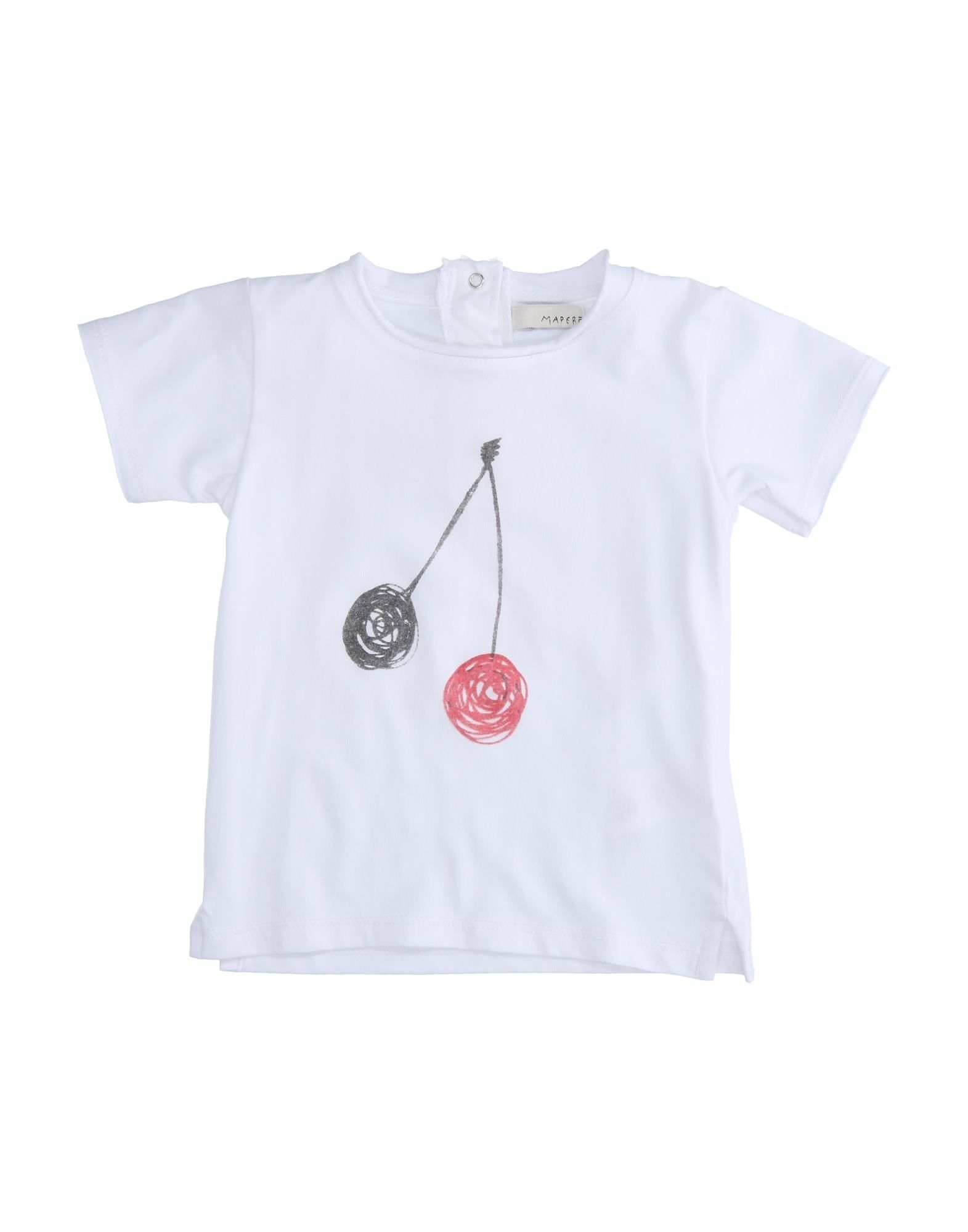Mapero Kids' T-shirts In White