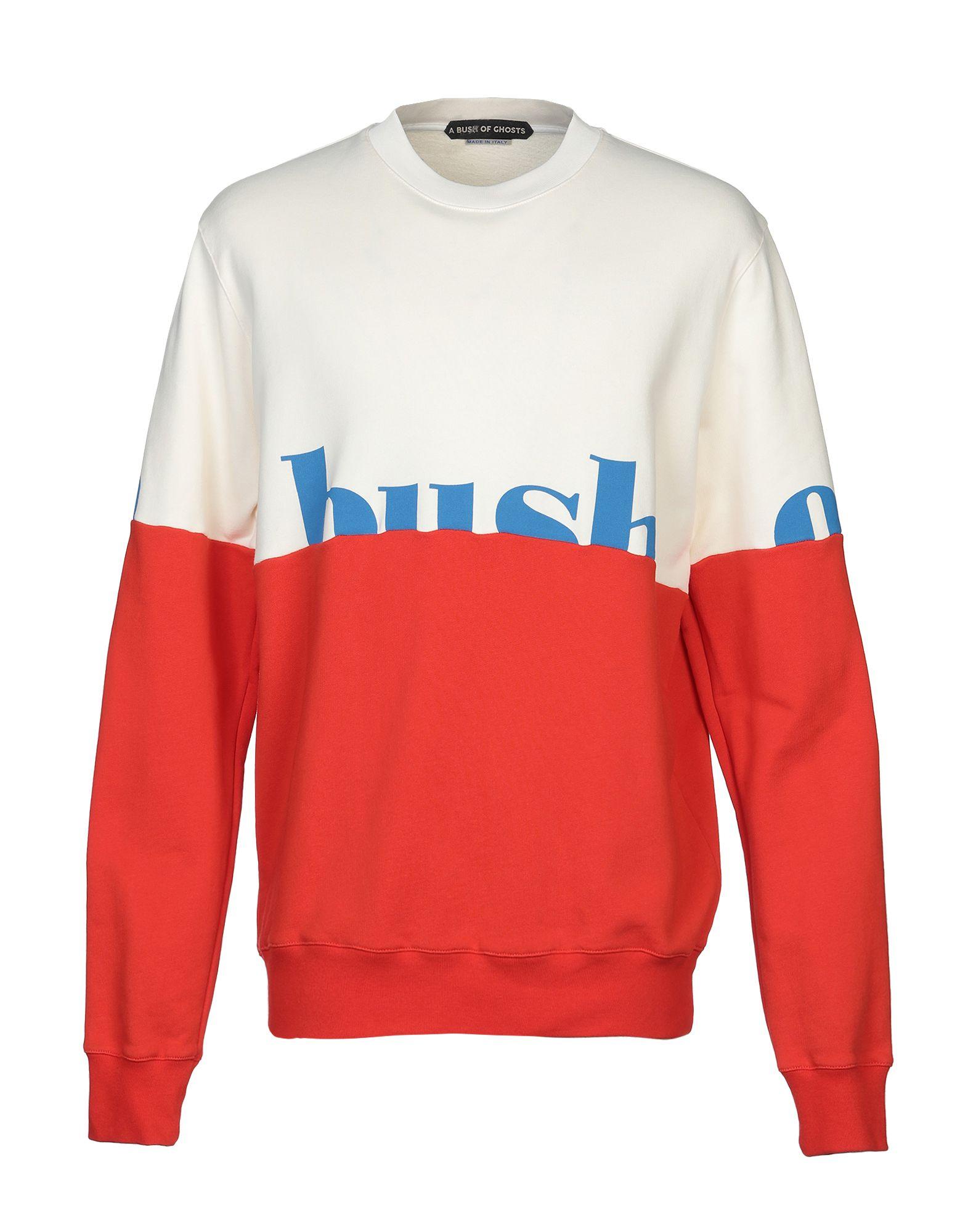 《送料無料》A BUSH OF GHOSTS メンズ スウェットシャツ ホワイト XL コットン 100%