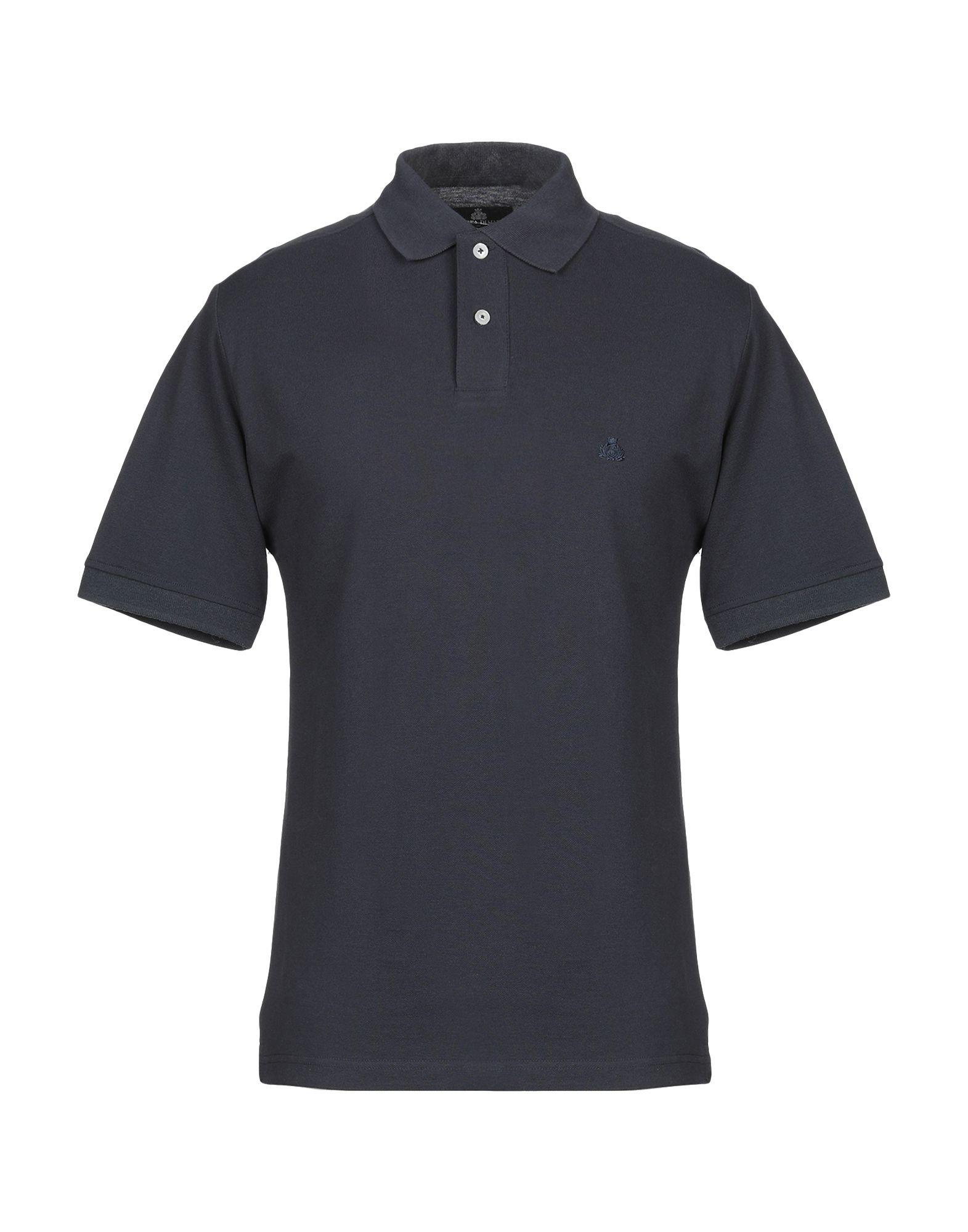 《送料無料》ARMATA DI MARE メンズ ポロシャツ ダークブルー 46 コットン 100%