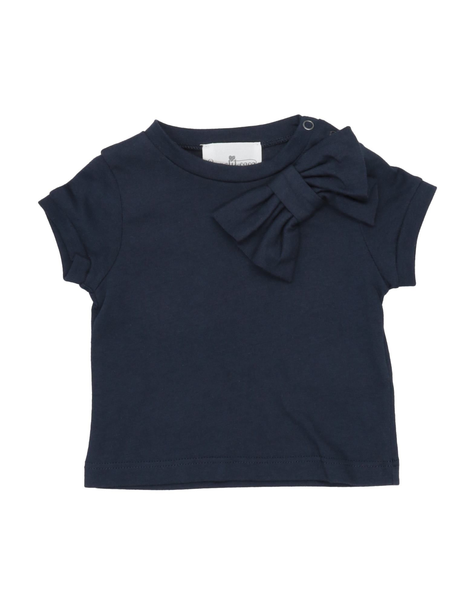 Le Petit Coco Kids' T-shirts In Blue