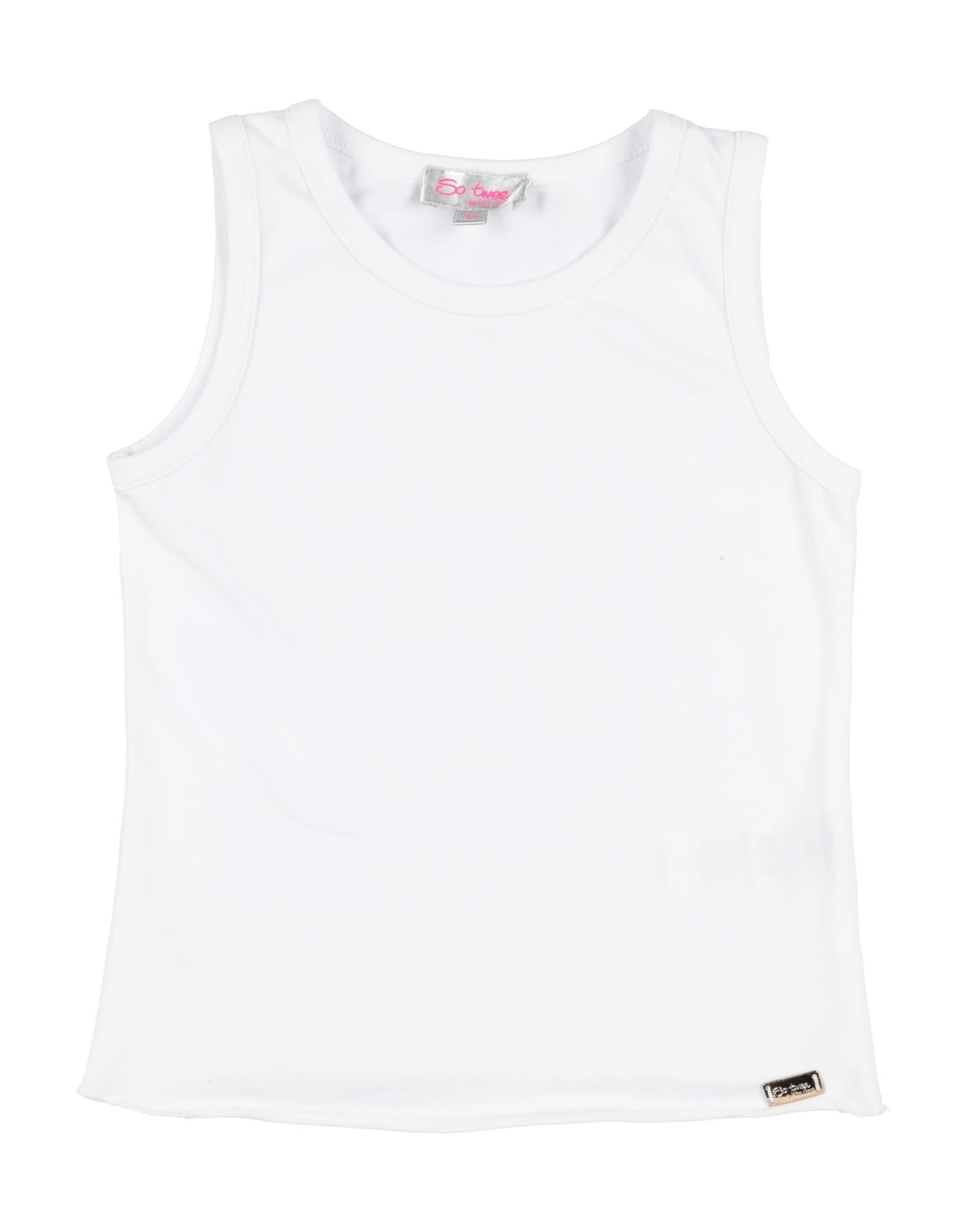 So Twee By Miss Grant Kids' T-shirts In White