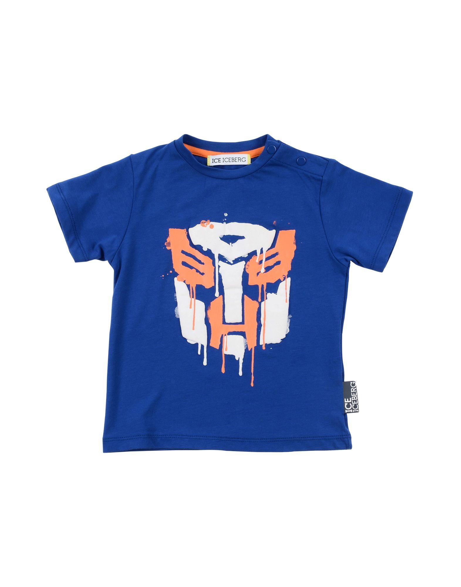 Ice Iceberg Kids' T-shirts In Blue
