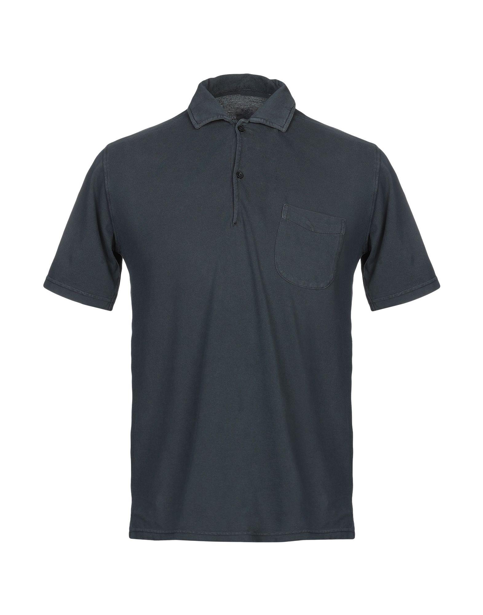 《送料無料》R3D W D メンズ ポロシャツ 鉛色 S コットン 100%