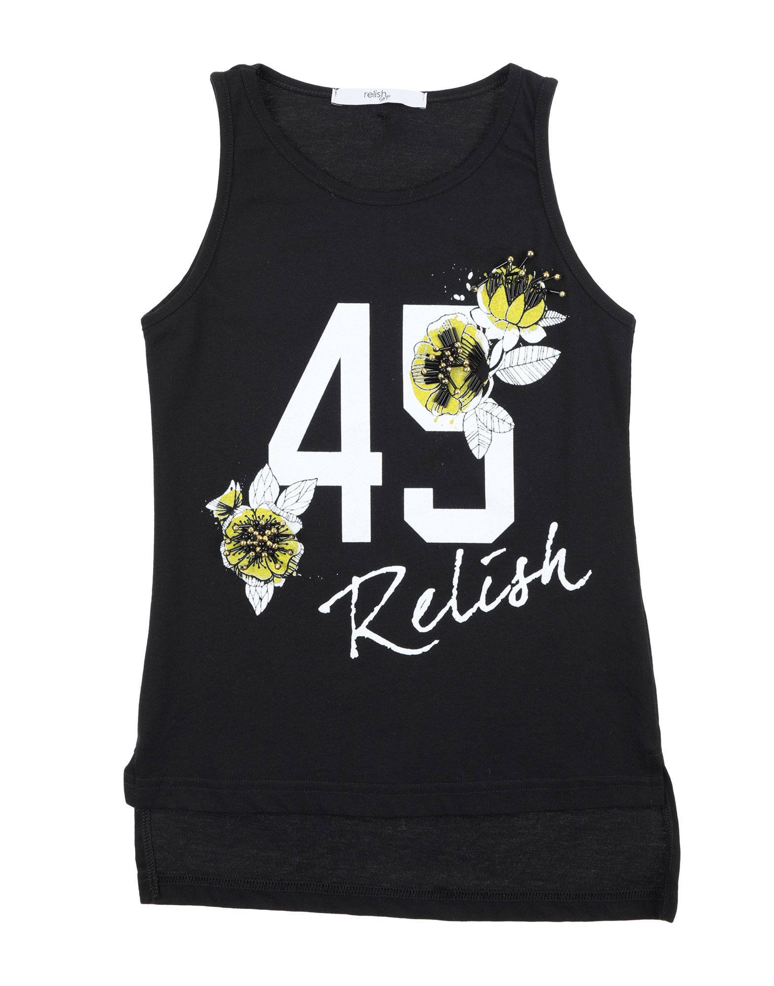 Relish Kids' T-shirts In Black