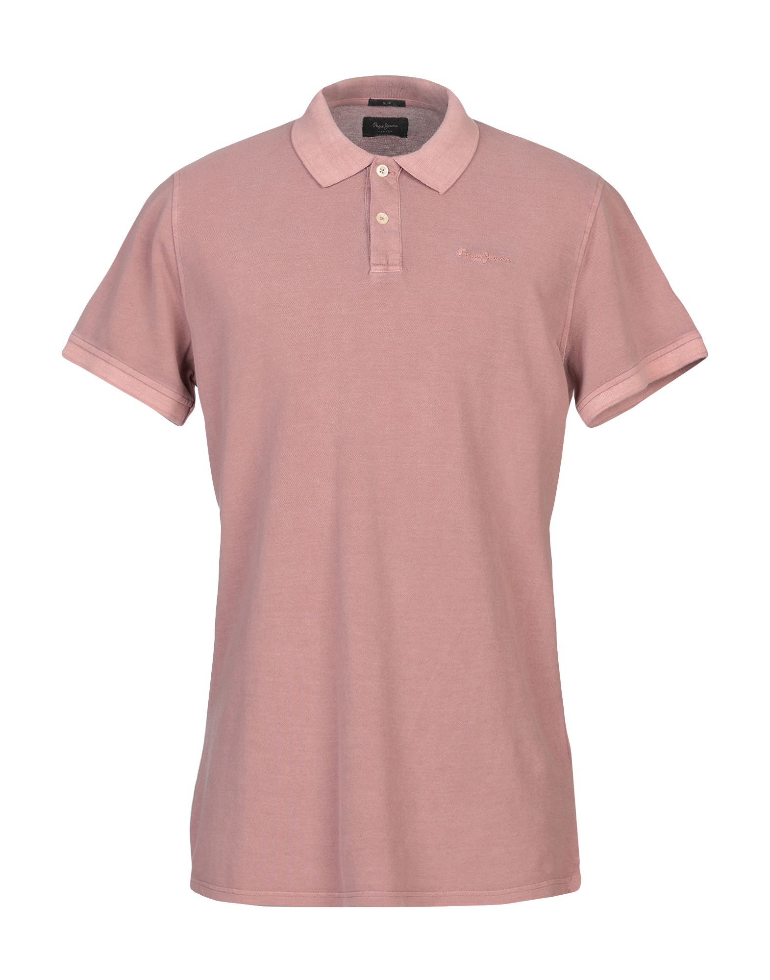 《送料無料》PEPE JEANS メンズ ポロシャツ ローズピンク XS コットン 100%
