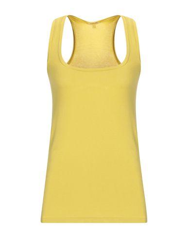 Купить Женскую майку  желтого цвета