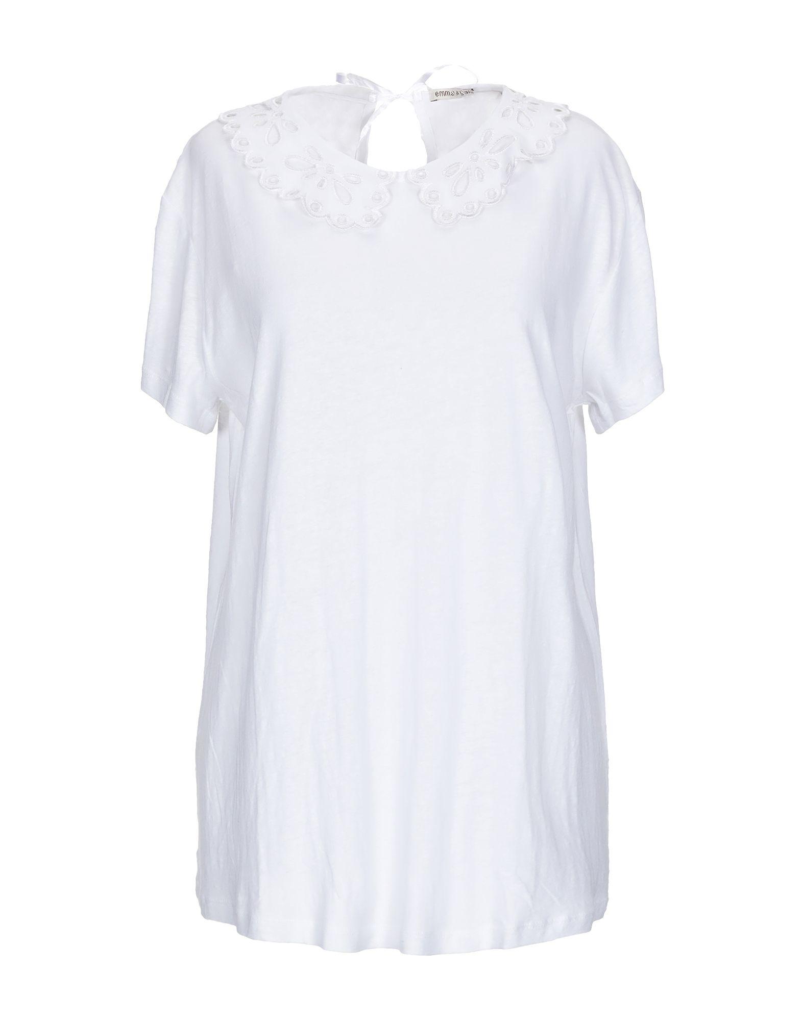 EMMA & GAIA Футболка dress emma monti платья и сарафаны приталенные