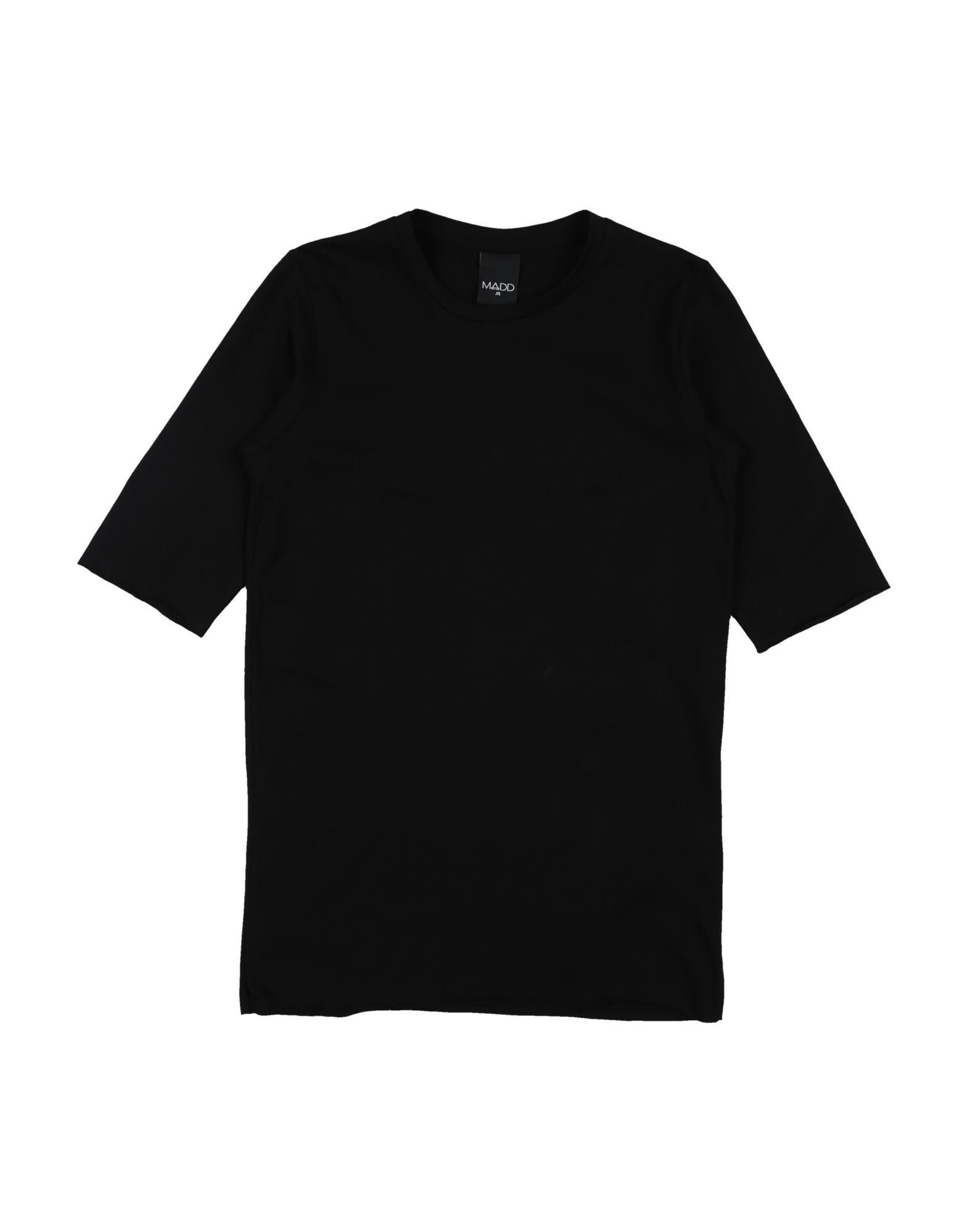 Madd Kids' T-shirts In Black