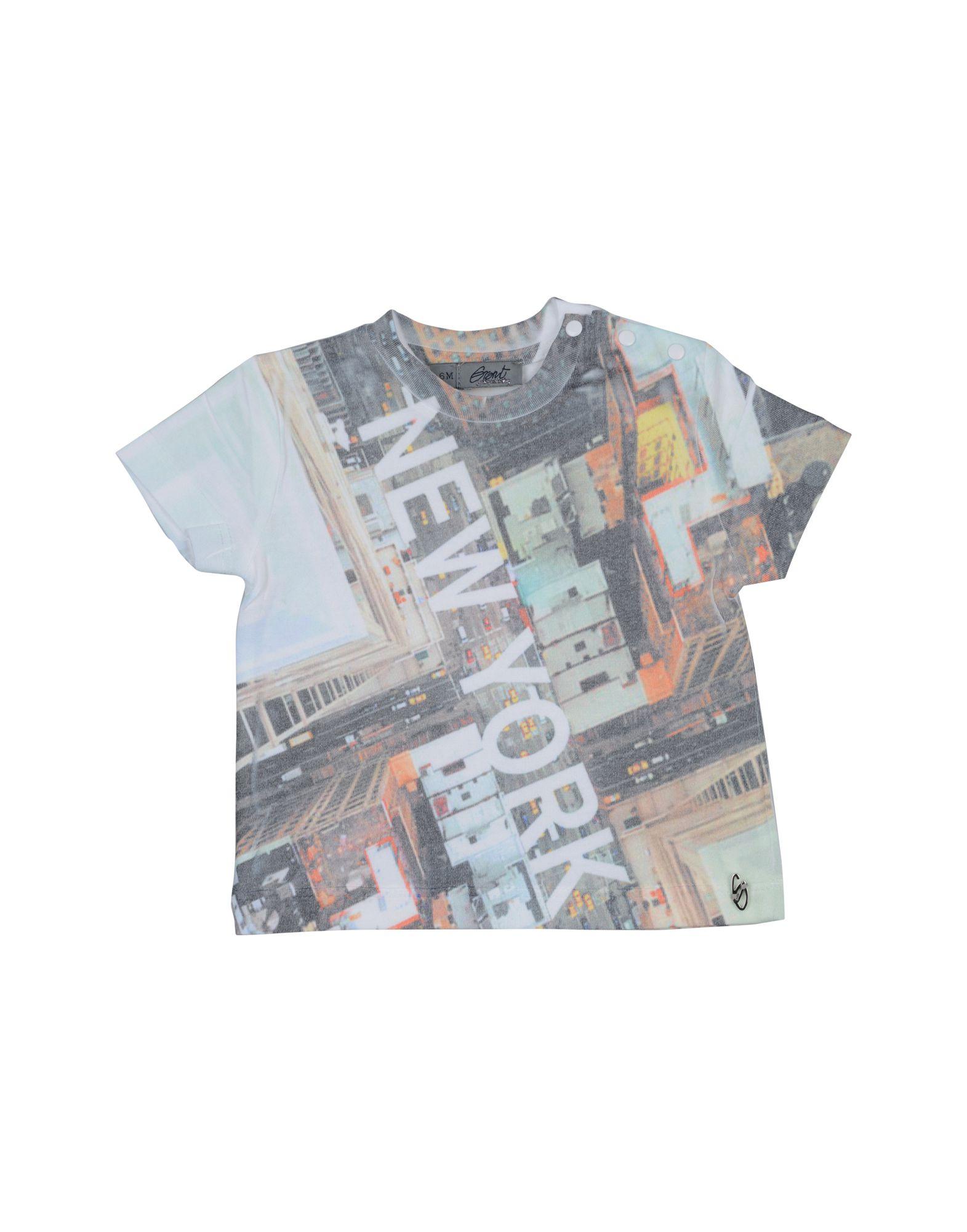 Grant Garçon Baby Kids' T-shirts In Light Green