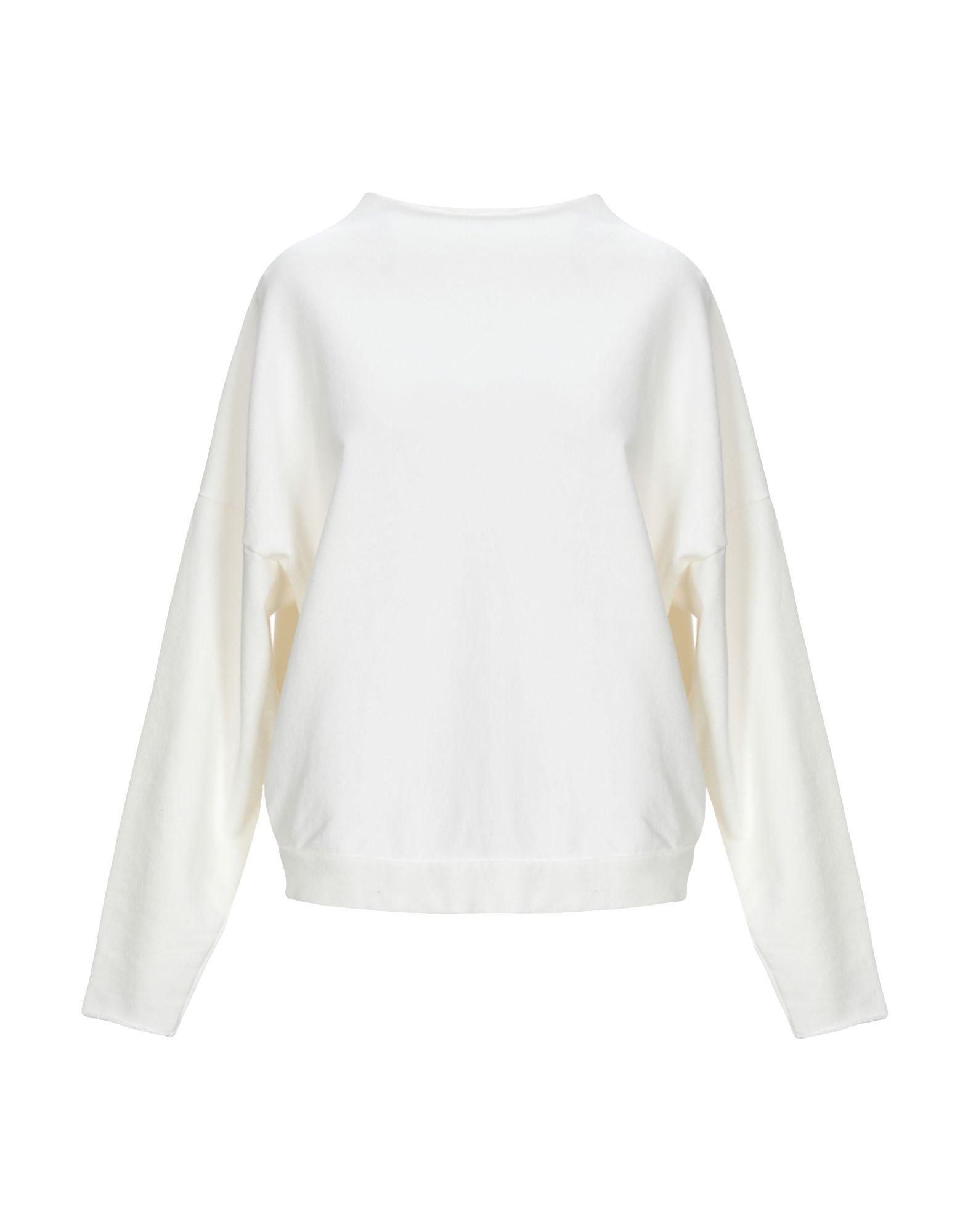 《送料無料》MAURO GRIFONI レディース スウェットシャツ ホワイト XS コットン 100%