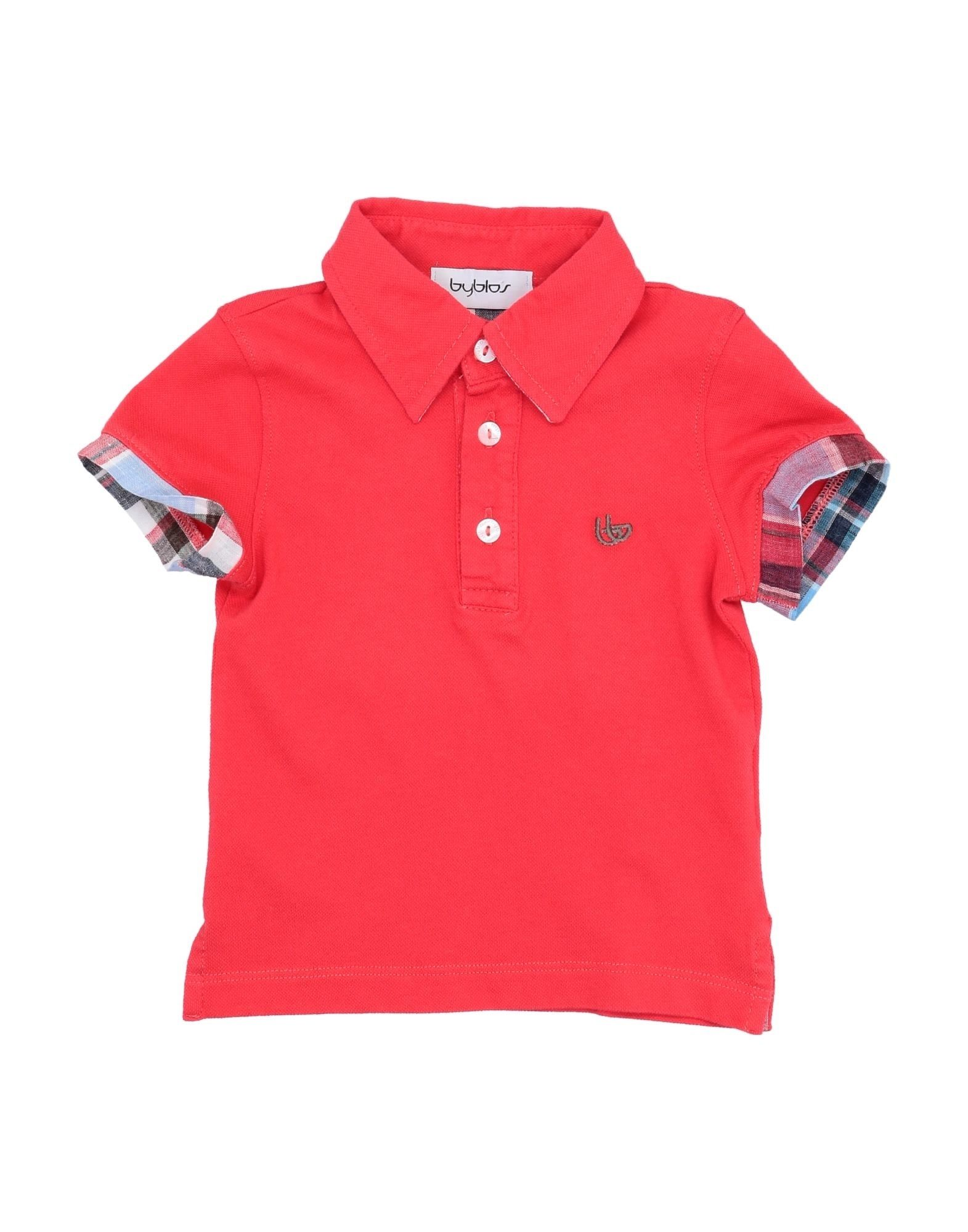 Byblos Kids' Polo Shirts In Red