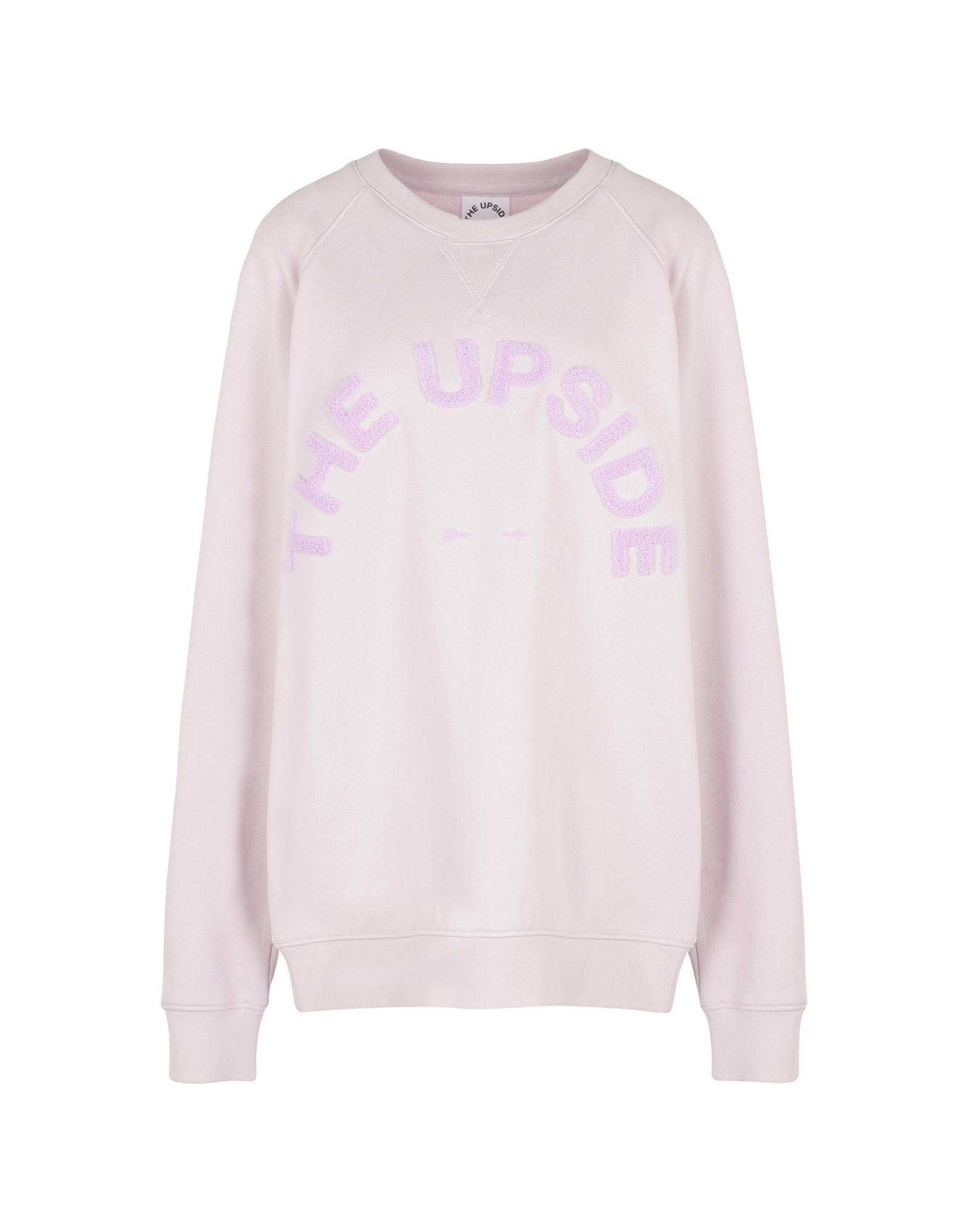 《期間限定セール中》THE UPSIDE レディース スウェットシャツ モーブ M コットン 100% SID CREW