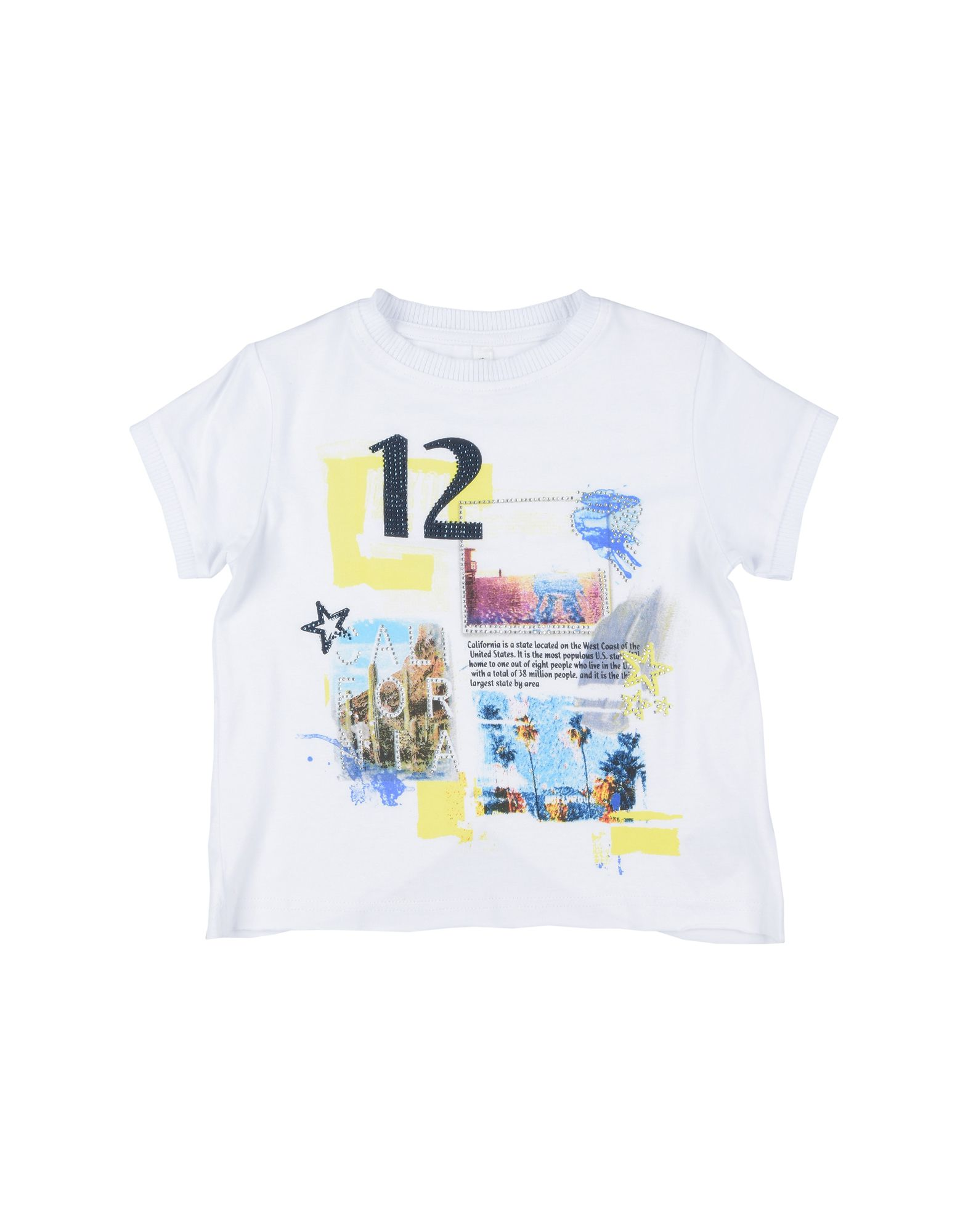 To Be Too Kids' T-shirts In White