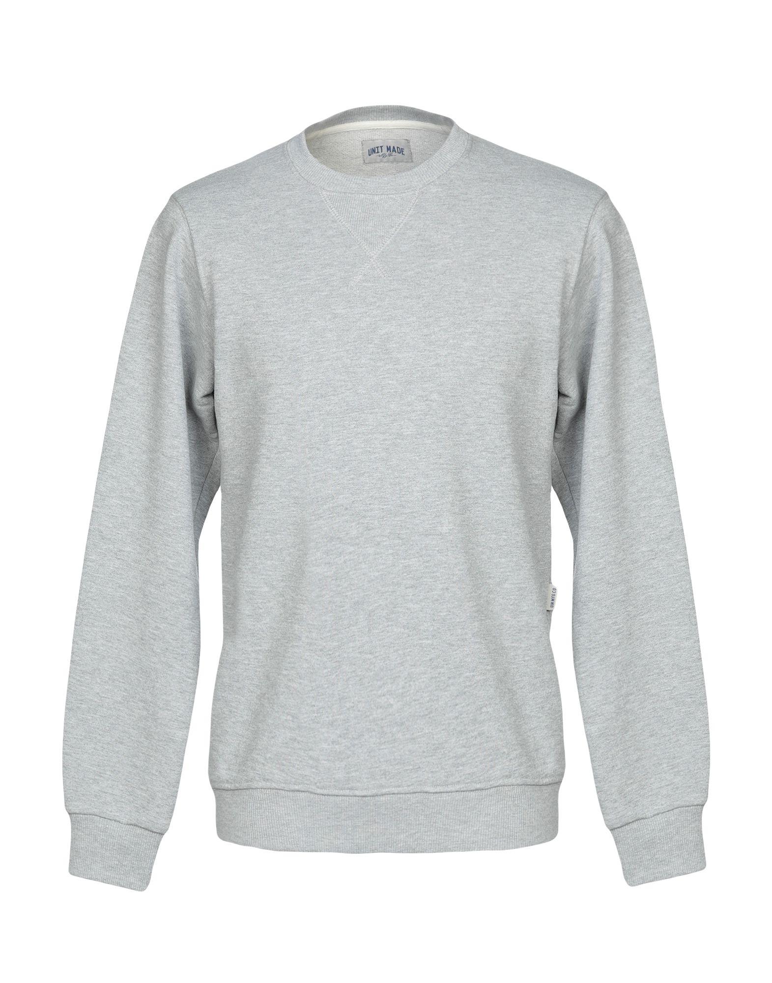 《送料無料》UNIT MADE メンズ スウェットシャツ グレー M コットン 100%
