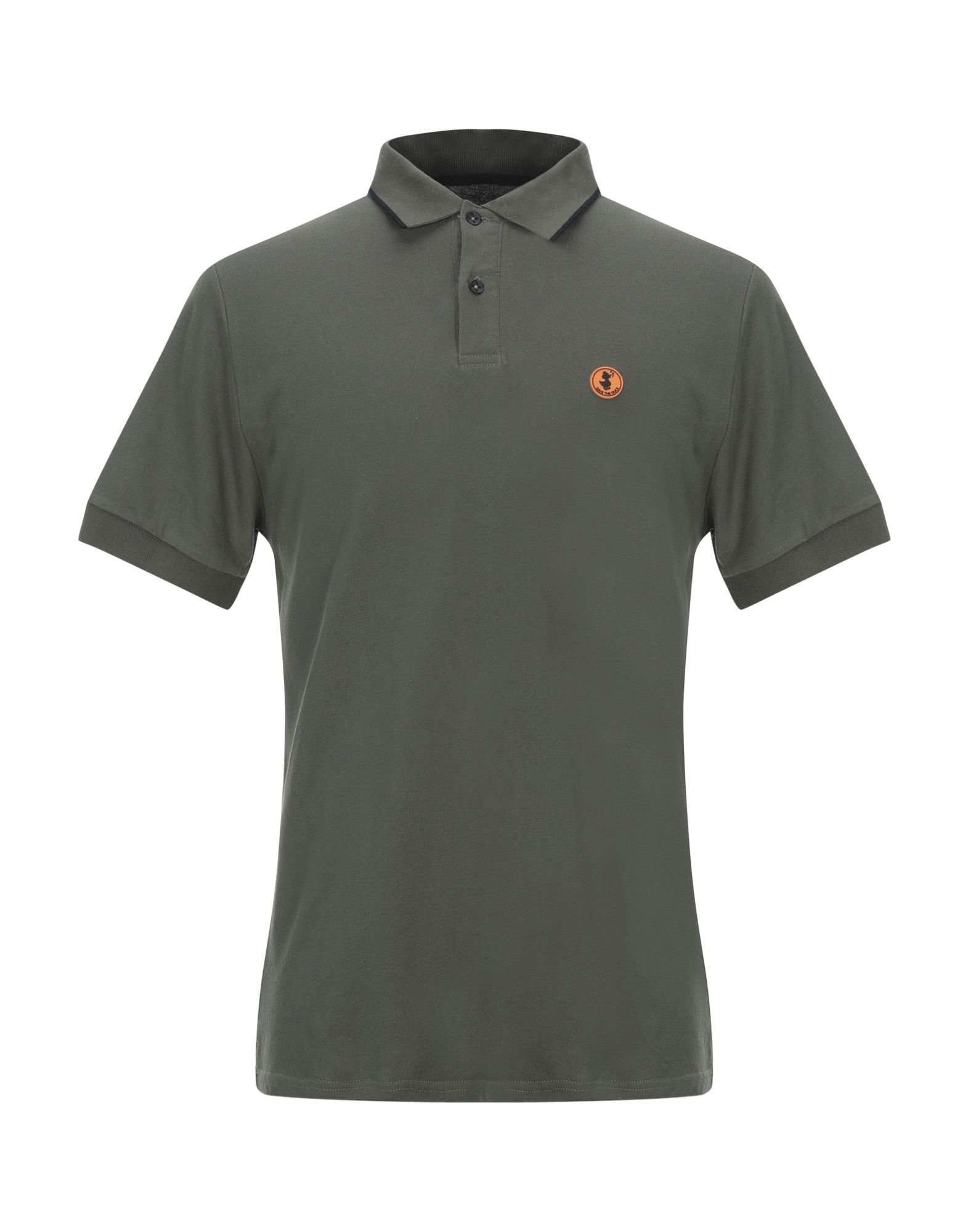 Save The Duck Polo Shirts In Military Green Modesens