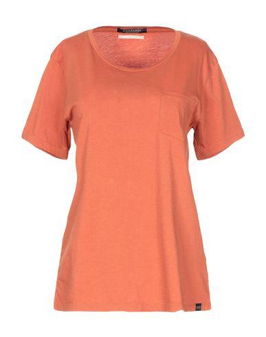 Купить Женскую футболку  ржаво-коричневого цвета