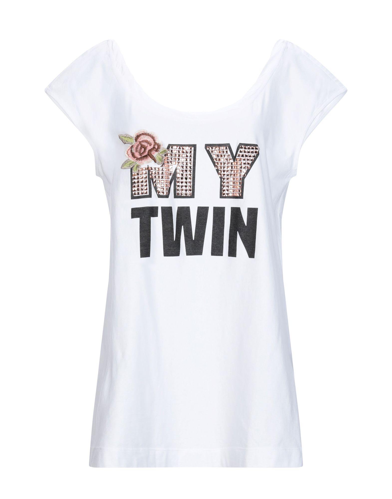 MY TWIN by TWIN SET Футболка twin set twin set футболка at 162737