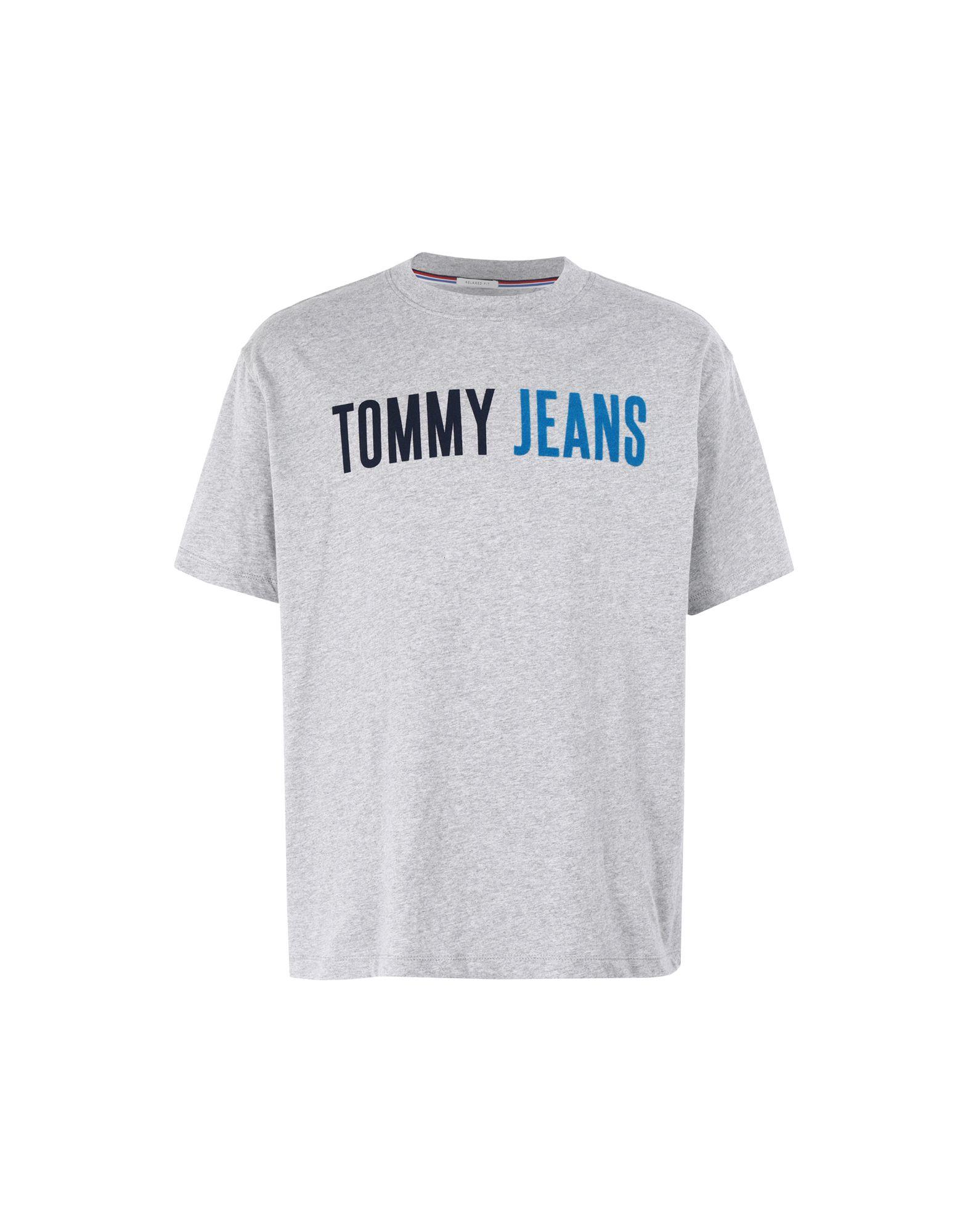 TOMMY JEANS Футболка футболка tommy jeans tommy jeans to052embhrt1