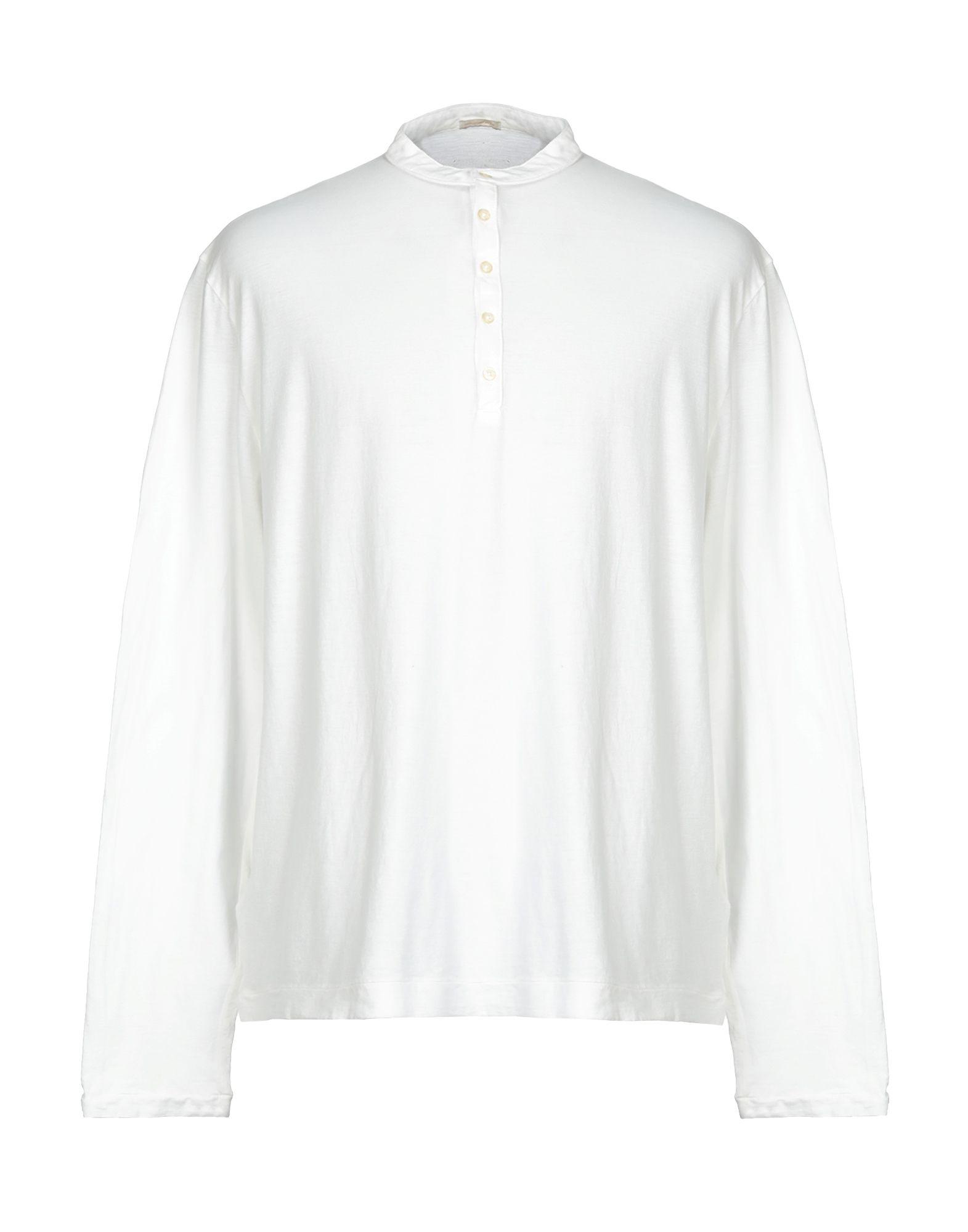 《送料無料》MASSIMO ALBA メンズ T シャツ ホワイト XXL コットン 100%