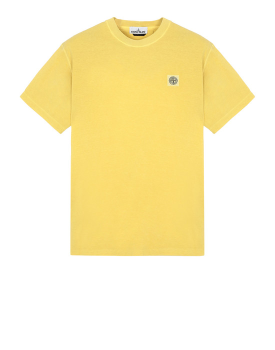 STONE ISLAND Short sleeve t-shirt  21657 'FISSATO' DYE TREATMENT