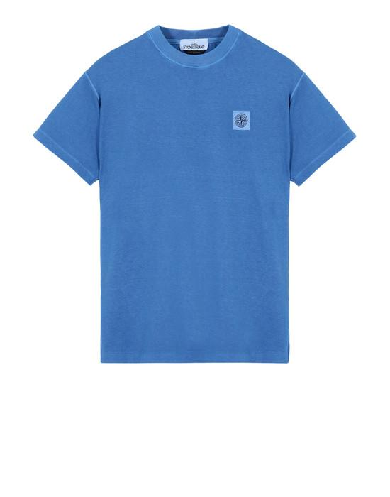 STONE ISLAND Short sleeve t-shirt  21657 TINTO 'FISSATO'