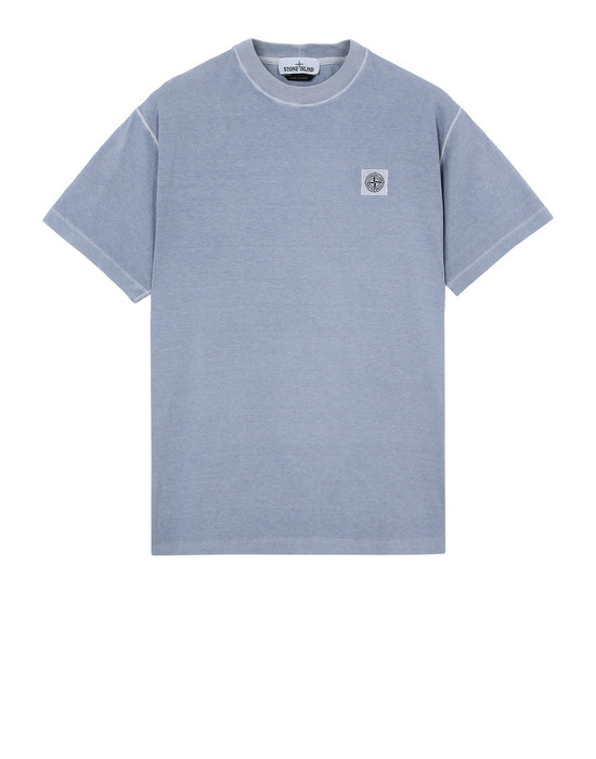 Short sleeve t-shirt  21657 'FISSATO' DYE TREATMENT STONE ISLAND - 0