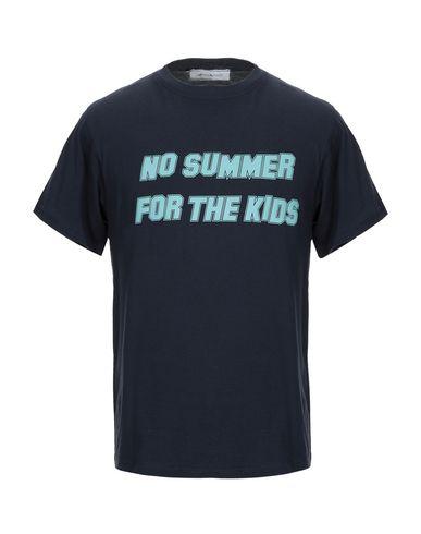 Купить Женскую футболку MATTEOLAMANDINI темно-синего цвета