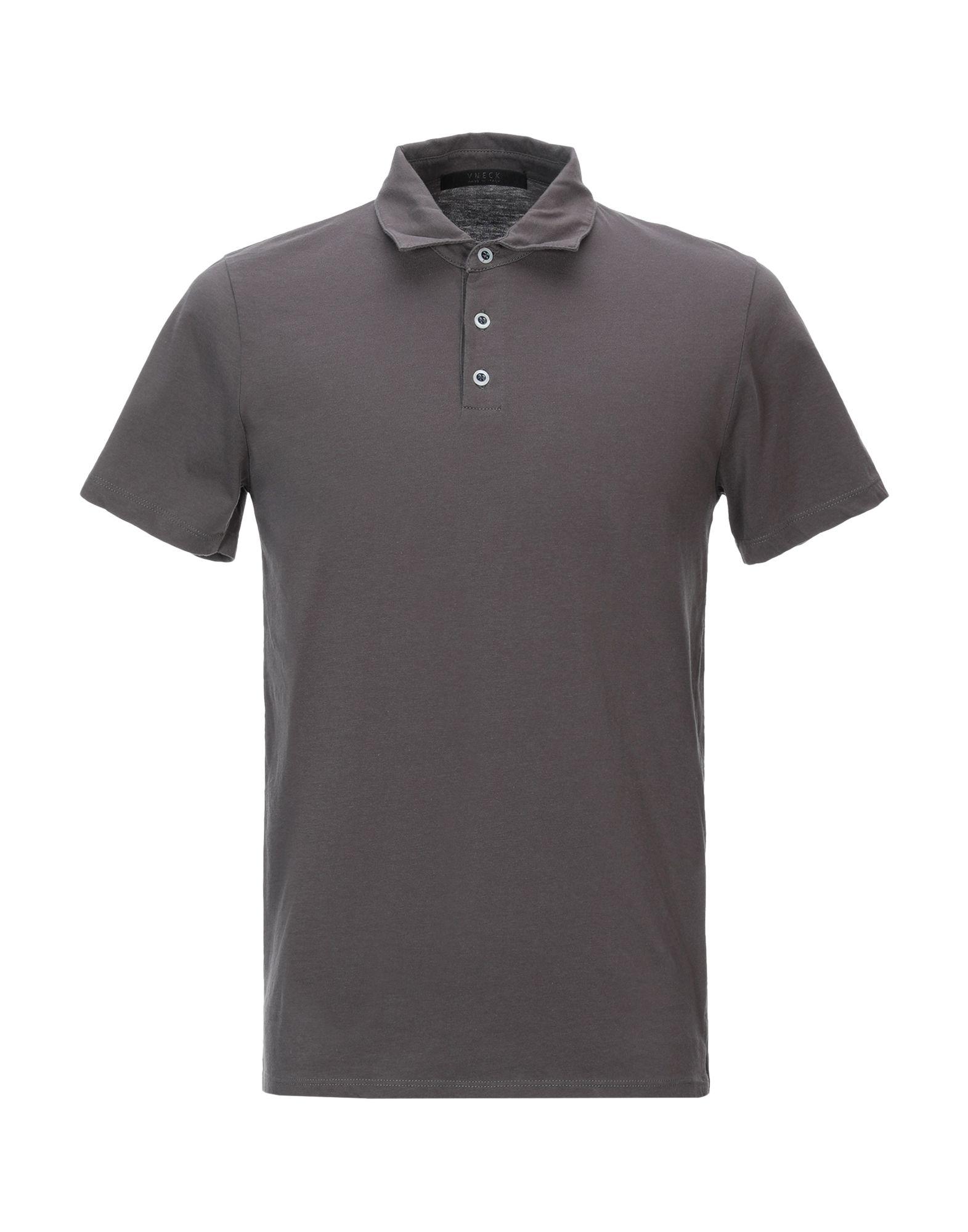 《セール開催中》VNECK メンズ ポロシャツ カーキ S コットン 100%