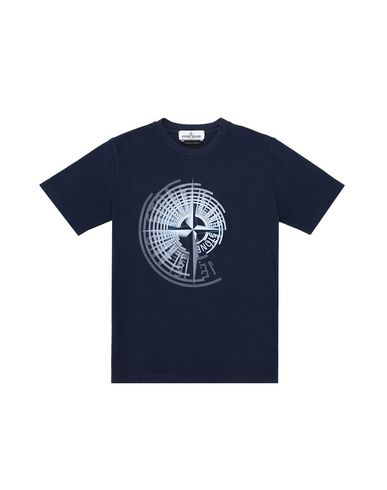 STONE ISLAND JUNIOR Short sleeve t-shirt Man 21453 f