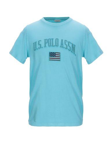 Купить Женскую футболку  бирюзового цвета