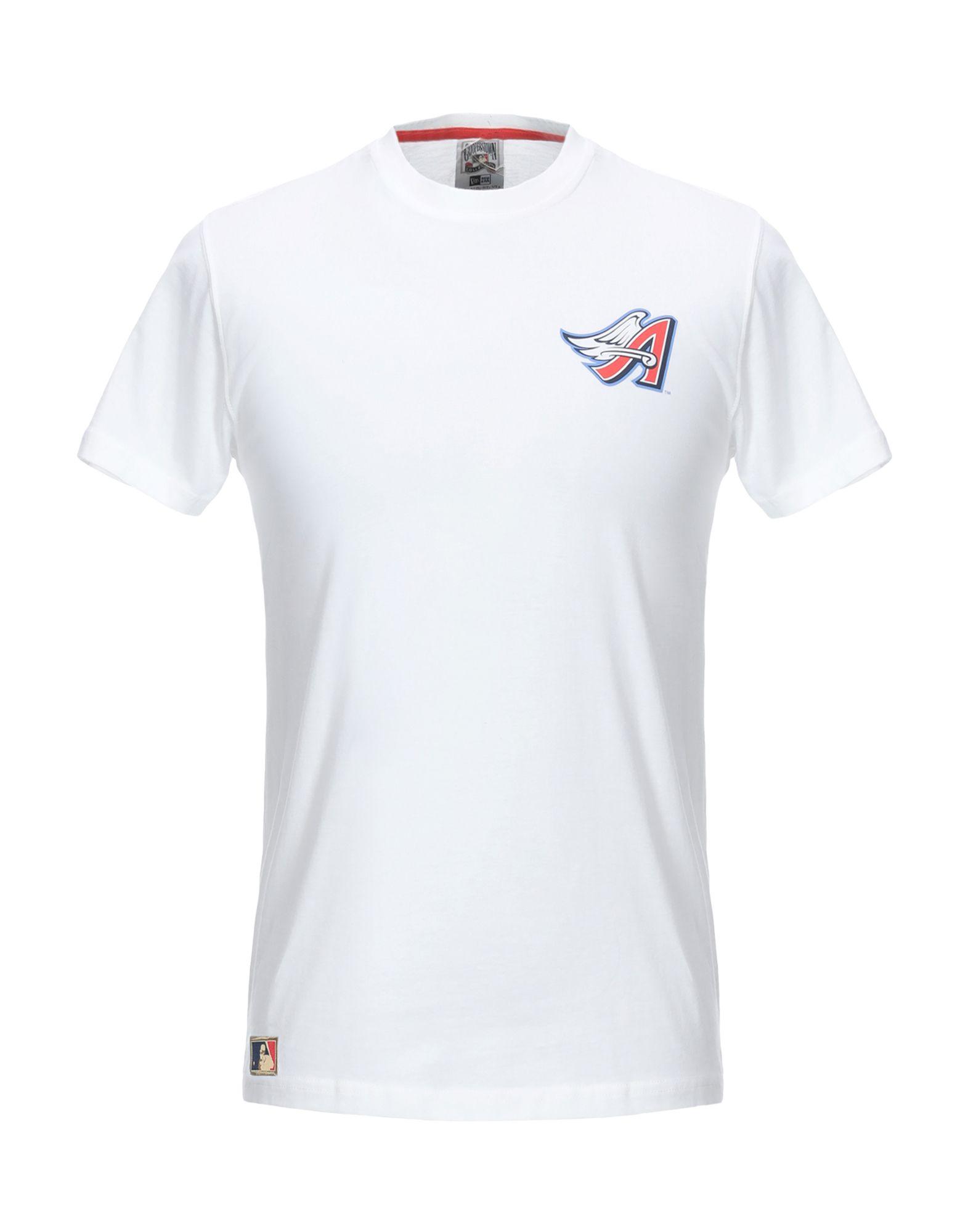 《期間限定 セール開催中》NEW ERA メンズ T シャツ ホワイト S コットン 100%