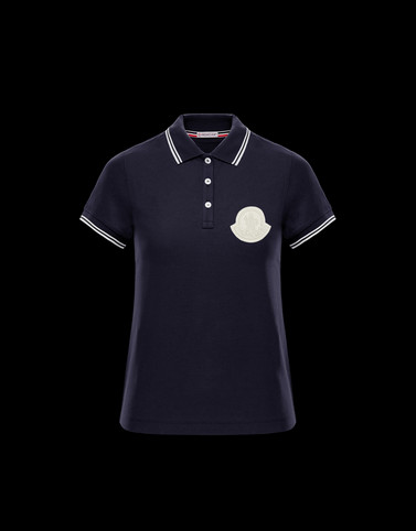 POLO Dark blue Category Polo shirts Woman