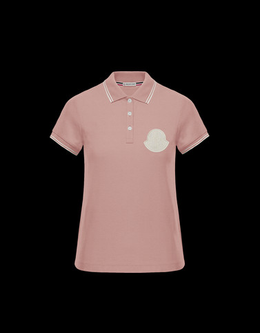 POLO Powder Rose Category Polo shirts Woman