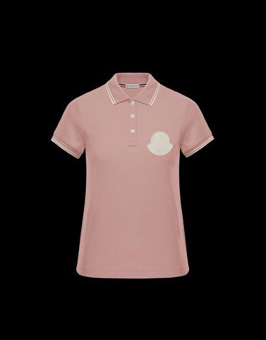 POLO衫 玫瑰花粉色 新品上线 女士