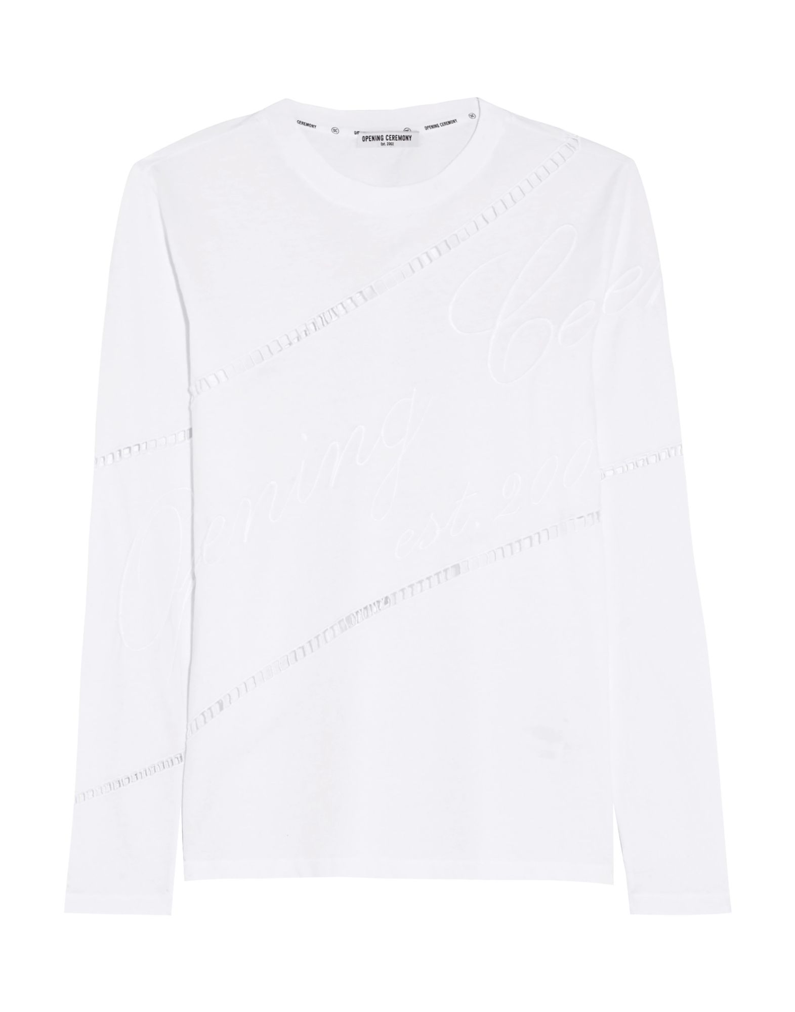 《送料無料》OPENING CEREMONY レディース T シャツ ホワイト XS コットン 100%